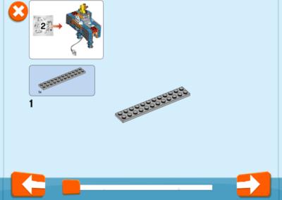 LEGO Boost Bauanleitung iPad App