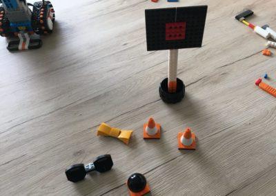 Aufgebautes Zubehör zum LEGO Boost