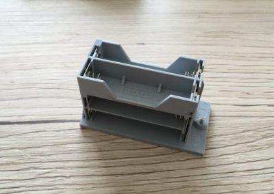 Das LEGO Boost Batteriefach von oben.