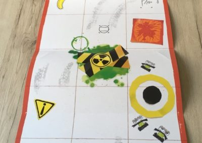 Die Spielmatte des LEGO Boost