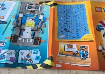 Die Teileliste des LEGO Boost.