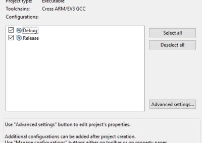 c3ev3 Praktikum Configurations