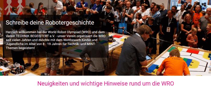 WRO 2018: Die Neuigkeiten im Überblick