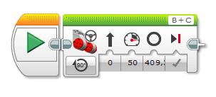 Manuelle Motoransteuerung mit der Gradzahl (EV3-G)
