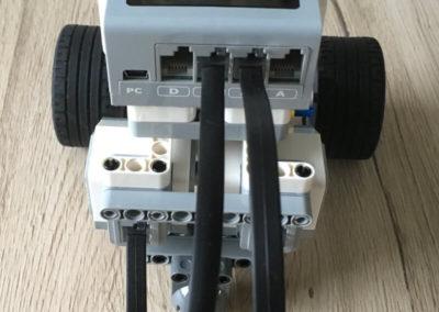 Beispielroboter für den Radumfang (hinten)