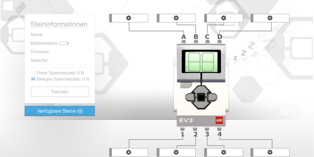 Apple iOS: Bluetooth-Verbindungsproblem mit dem EV3