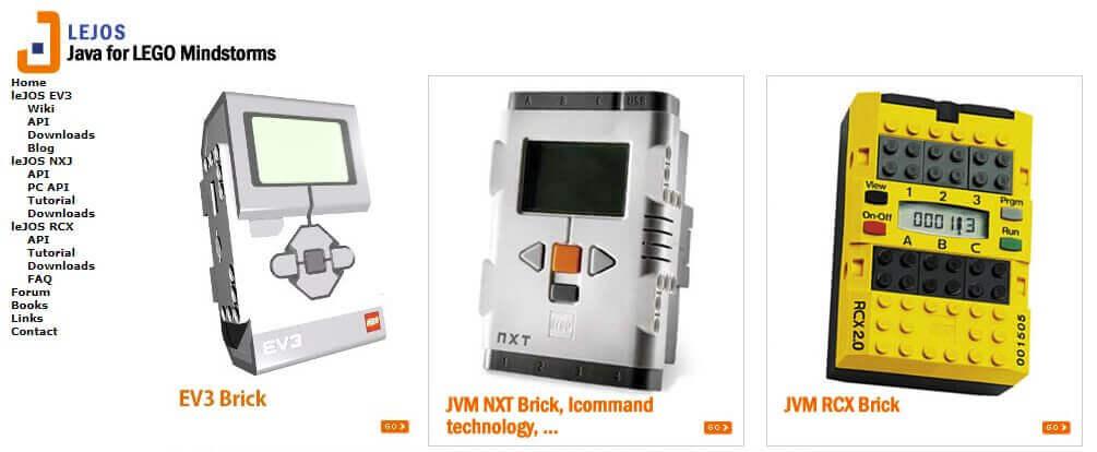 LeJOS: Java auf dem LEGO® Mindstorms® RCX, NXT & EV3
