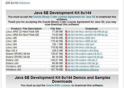 LeJOS Java Installation 1.