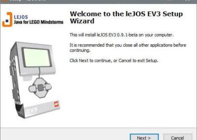 LeJOS Paket-Installation 1.