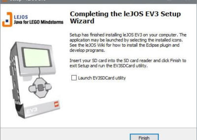 LeJOS Paket-Installation 4.