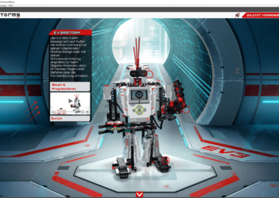 Modell-Details in der Windows-Anwendung zum LEGO Mindstorms EV3