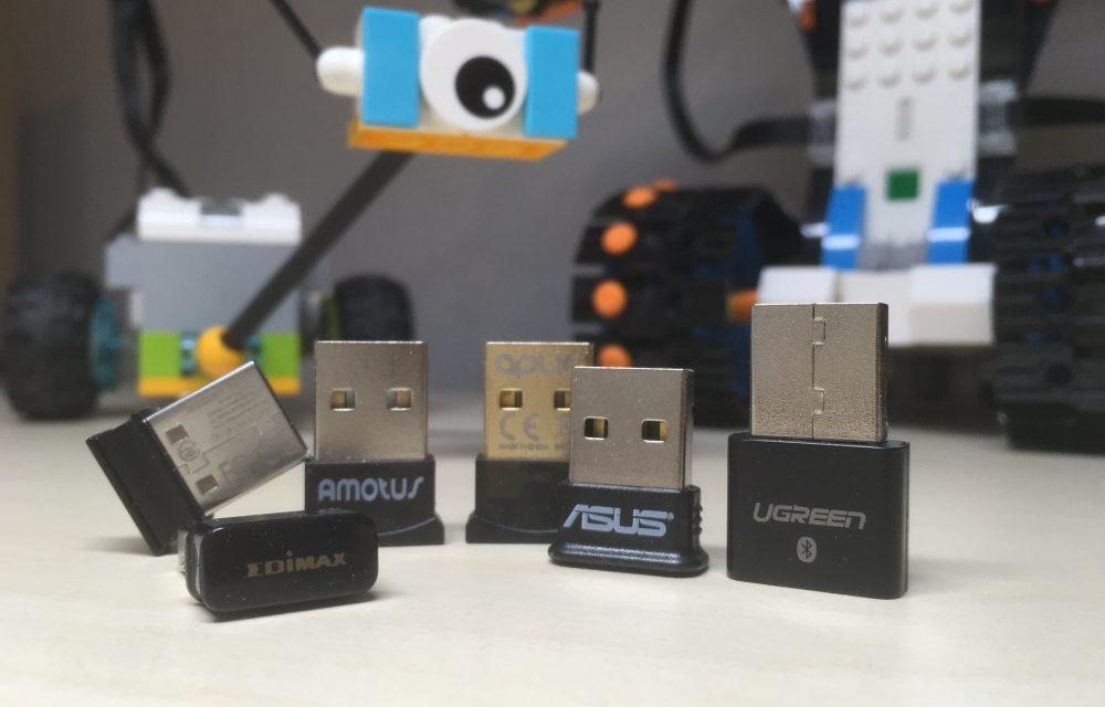 Test: Bluetooth-Dongles, die LEGO® Roboter und warum der WeDo den BLED112 benötigt