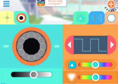 In der Go-App: Stelle die Helligkeit ein!