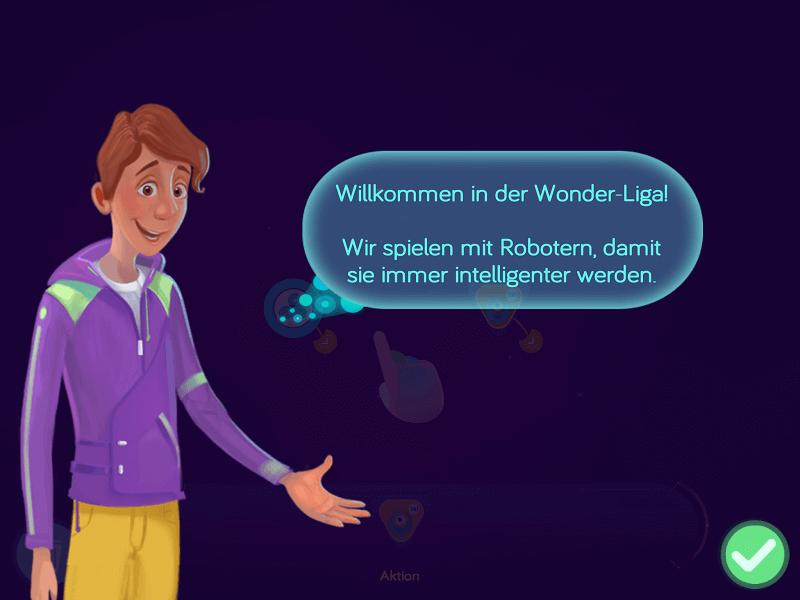 Einführung in die WonderLiga in der Wonder-App