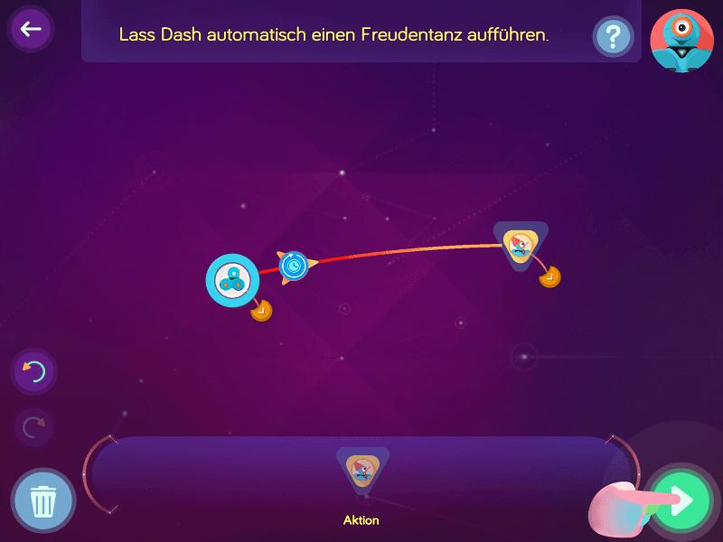 Ein erster Zustandsautomat in der Wonder-App