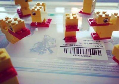 Ergebnisse der LEGO® Duck Challenge