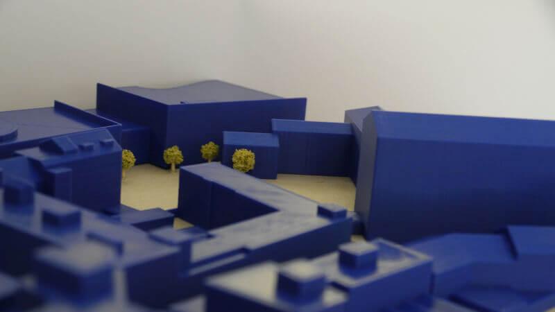 Könnt ihr erkennen, welche Gebäude das Modell darstellt?