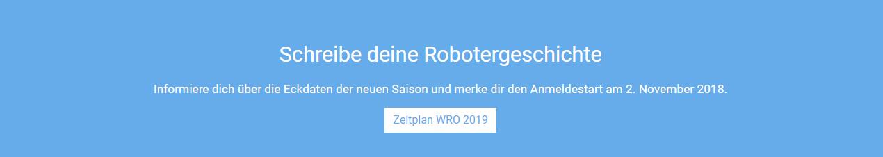 Die WRO-Saison 2019