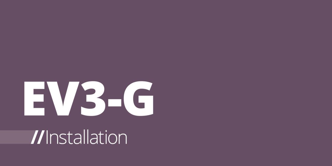 EV3-G – Installationsanleitung