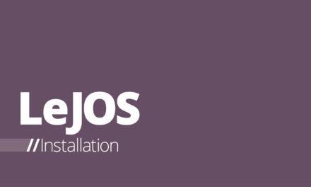 LeJOS – Installation auf dem LEGO® Mindstorms® EV3
