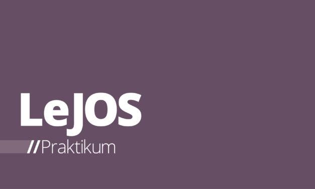 LeJOS – Praktikum 1: Erstellen eines Projektes