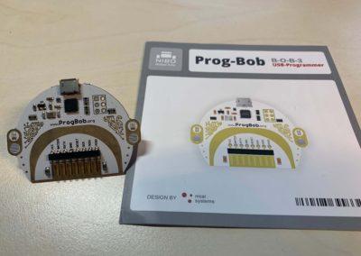 Der Programmierhelm von BOB3