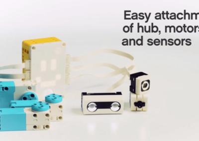 SPIKE prime - Motoren und Sensoren