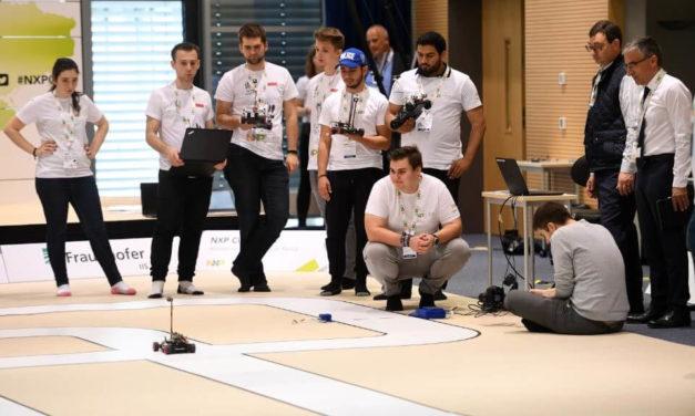 EMEA NXP-Cup: Selbstfahrender Miniflitzer aus der Schweiz macht das Rennen