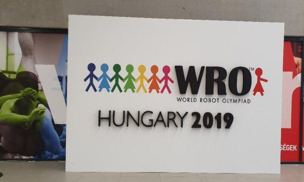 Das Weltfinale der WRO Saison 2019 in Ungarn