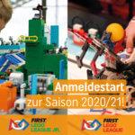 Anmeldezeitraum First® Lego® League gestartet
