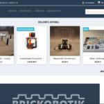 Der brickoshop ist online