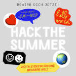 #HackTheSummer – Euer Code für eine bessere Welt