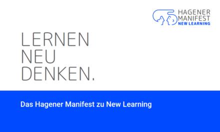 Aufruf zum New Learning: Das Hagener Manifest