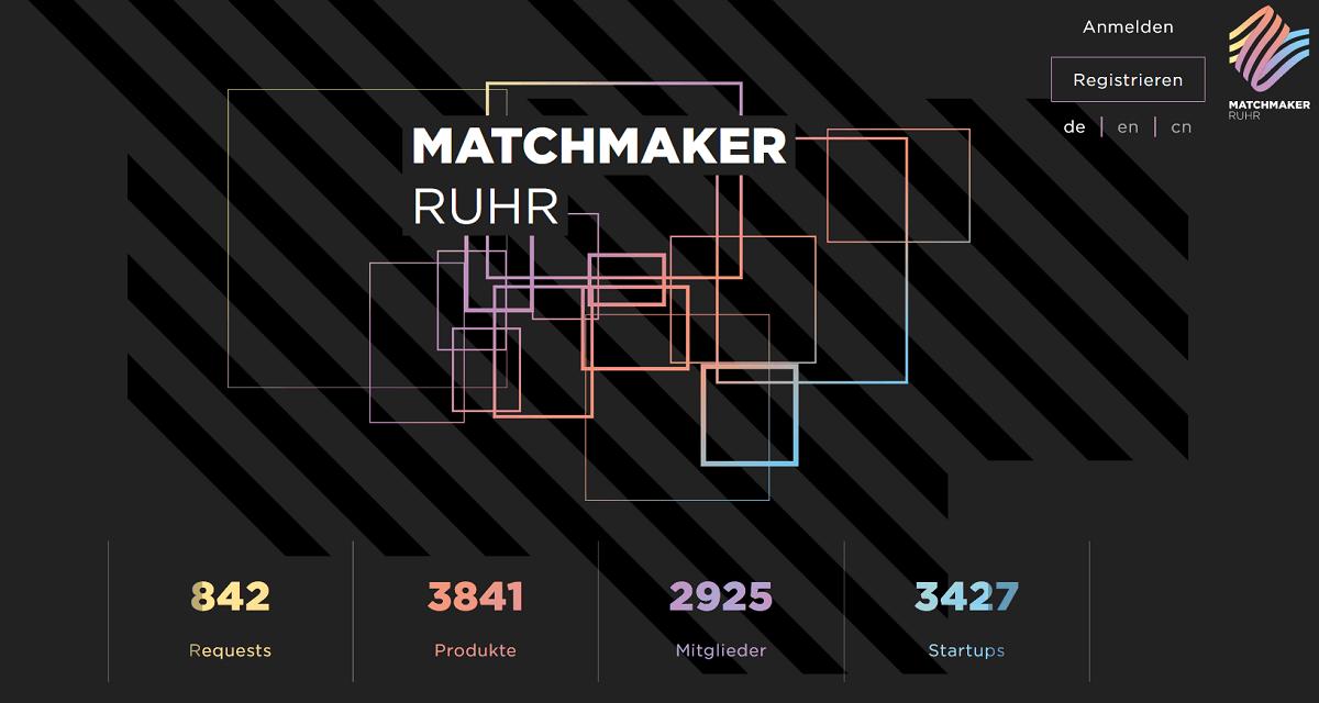 Vernetzung im Ruhrgebiet: brickobotik bei Matchmaker.Ruhr