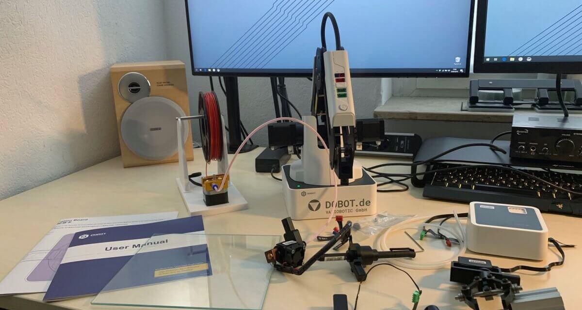 Test: Der DOBOT Magician – Roboterarm und 3D-Drucker