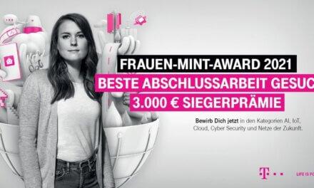 Bewerbung für den Frauen-MINT-Award noch möglich