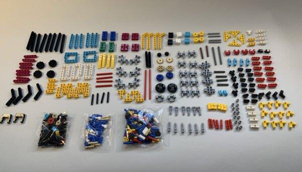 Teile eines SPIKE-Prime-Sets geordnet