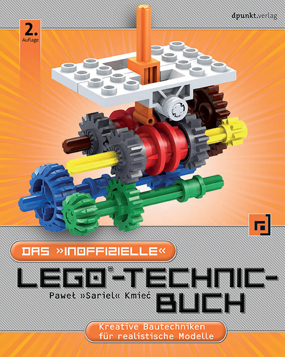 Cover der zweiten Auflage des inoffiziellen LEGO-Technic-Buchs