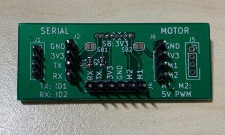 Ein brickobotik-Bastelprojekt: Die SPIKE-Adapterplatine