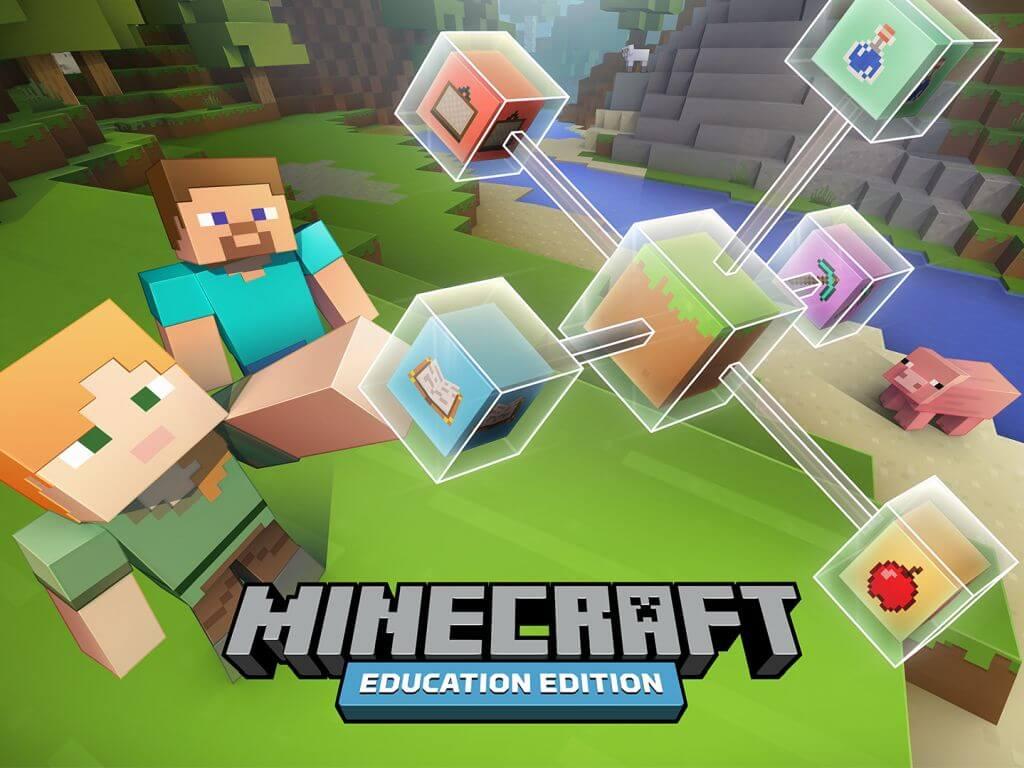 Titelbild der Minecraft Education Edition