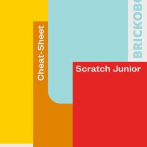 Titelseite des Cheat-Sheets für Scratch Junior