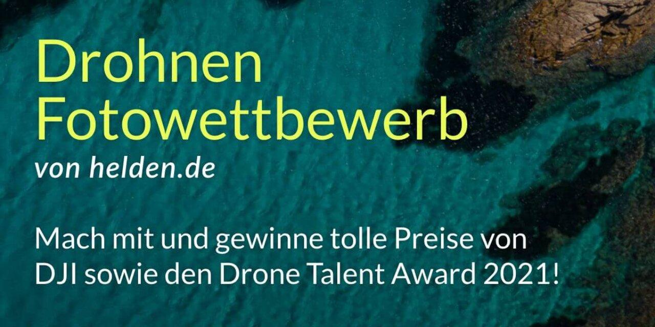 Drohnen Fotowettbewerb: Beste Luftaufnahme gesucht!